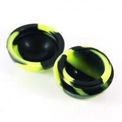 Bola de silicona - Negro y Verde