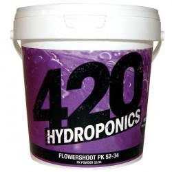 Flowershoot PK 52-34 1Kg - Booster de floraison PK - 420 Hydroponics hydro/terre/coco