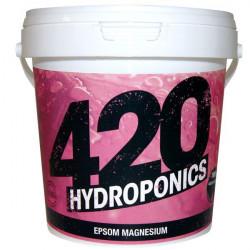 Epsom Magnesium - 250g - 420 Hydroponics Sel d'epsom