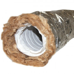 Gaine insonorisé Virgin Phonic Plus - 203mm x 3m conduit ventilation