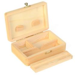 Caja de madera-modelo de medio