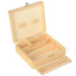 Boîte en bois grand modèle -