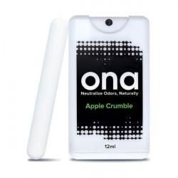 Carte de pulvérisation anti odeurs Apple Crumble 12ml - Ona