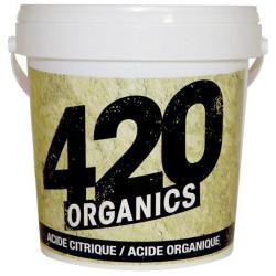 El ácido cítrico / Ácido orgánico - 1Kg - 420 Orgánicos en polvo