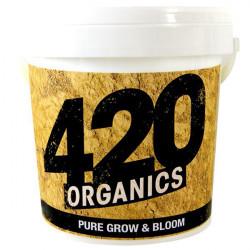 fertilizante Orgánico Puro Grow Y Bloom - 200g - 420 Orgánicos Enmiendas