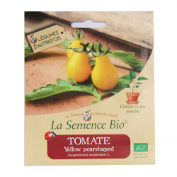 Graines Bio - Tomate Yellow Pearshaped 20gn - La Semence Bio
