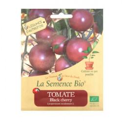 Graines Bio - Tomate Black Cherry 20gn - La Semence Bio