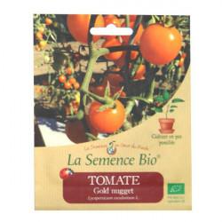 Graines Bio - Tomate Gold Nugget 20gn - La Semence Bio