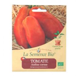Graines Bio - Tomate Andine Cornue 20gn - La Semence Bio