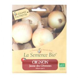 Graines Bio - Oignon jaune des Cevennes 150gn - La Semence Bio