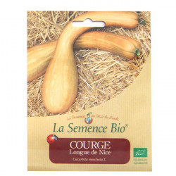 Graines Bio - Courge longue de Nice 20gn - La Semence Bio