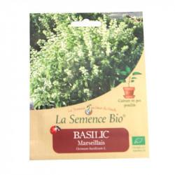Graines Bio - Basilic Marseillais 150gn - La Semence Bio
