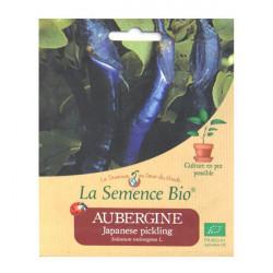 Graines Bio - Aubergine Japanese pickling 20gn - La Semence Bio