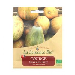 Orgánico de semillas de Calabaza Sucrine du Berry 20gn de Semillas Orgánicas