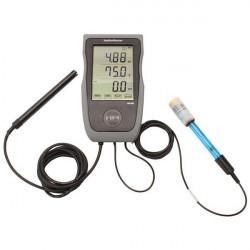 Testeur Hydromaster Digital pH-EC-Température - HM Digital