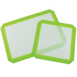 Placa de silicona 21x30cm - Verde y Blanco