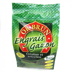 Engrais granulés Gazon 5Kg - Or Brun engrais pelouse