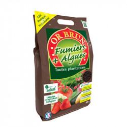 Fumier + Algues Bio Pratique 10Kg - Or Brun biologique