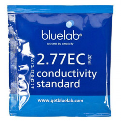 Buffer EC 2.77 -solution de calibration testeur ec Sachet de 20ml - Bluelab