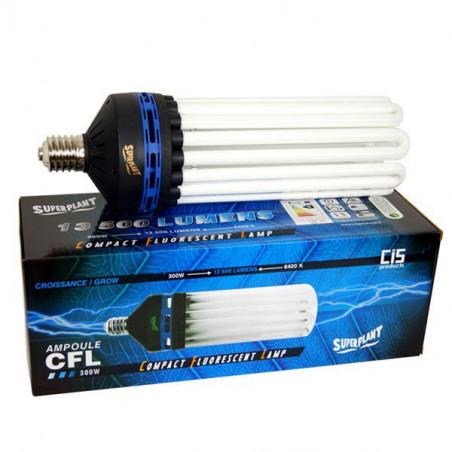 Ampoule CFL Superplant 300W 6400K - Croissance