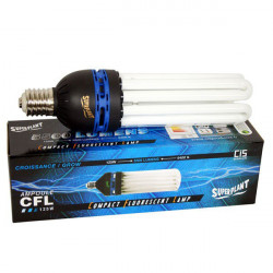 Bombilla CFL 125w - 6400°K - Creciente - E40 - Superplant