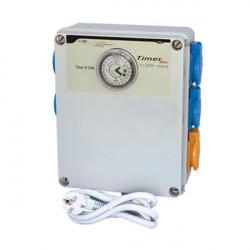 Boîtier Relais Timer Box II - 4 X 600W avec prise chauffage - GSE