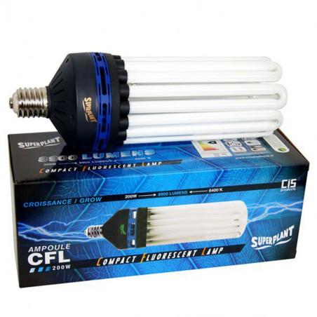 Ampoule CFL Superplant 200W 6400K - Croissance