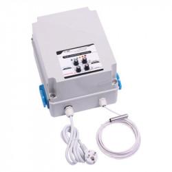 Transformateur régulateur d'humidité & T° 8A 2 ventilateurs - GSE