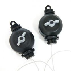 Easy Roller - 1 paire (2 x 5 Kg) pour fixation des lampes de culture