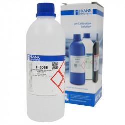 Solución de calibración pH 6.86 - 500ml + certificado - Hanna