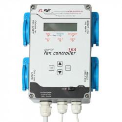 Contrôleur 4 sorties pour Ventilateur Humidité et Température 16A - GSE