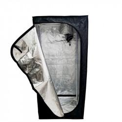 Chambre de Culture Mylar Eco - 90 x 90 x 160 cm - Black Silver