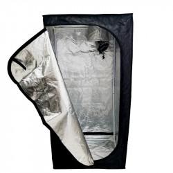 Sala de cultura de Mylar Eco - 120 x 120 x 200 cm - Negro Plata