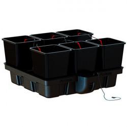 Systeme hydroponique Platinium HydroStar 100 6 Big Pots 25L