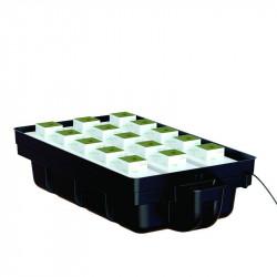 Système hydroponique table à marée Platinium Ebb et Flow 15 (110 x 60 cm)