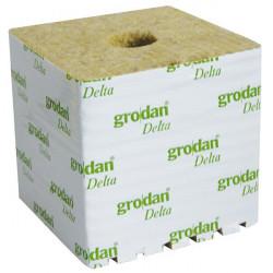 8 cubos de lana de roca de 7.5 x 7.5 x 6.5 cm - Grodan