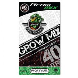 Substrat Grow-Mix perlite 10% 40L - Platinium Soil croissance et floraison