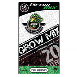 Substrat Grow-Mix perlite 10% 20L - Platinium Soil croissance et floraison