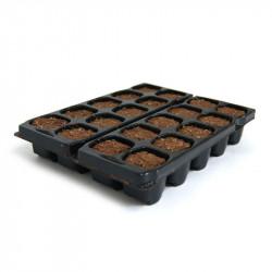Bouchon germination X-Plug pour bouture et semis - x 20 - Platinium Soil
