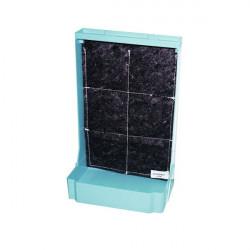 Mini mur végétal 44x28 - Bleu - EDN