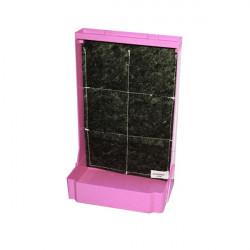 Mini mur végétal 44x28 - Rose - EDN