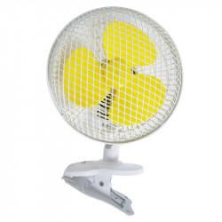 Ventilateur à pince Clip Fan Oscillant 18cm 20W - Airontek