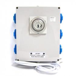 Temporizador de Retransmisión 6x400W + salida de calefacción - Superplant