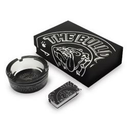 Boite cadeau - Cendrier + Briquet - The Bulldog