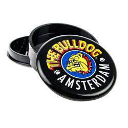 Molino de 3 piezas de Plástico negro, El Bulldog