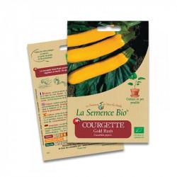 Cougette Gold Rush - 10 graines - La Semence Bio