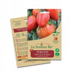 Las semillas de Tomate pequeño corazón de res - 20 semillas: La Semilla Orgánica