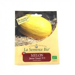 Graines bio - Melon Jaune Canari numéro 3 - 20gn - La Semence Bio