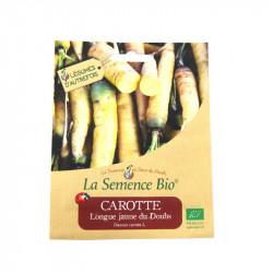 Graines bio - Carotte longue jaune de Doubs 1000 gn - La Semence Bio