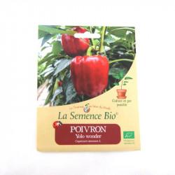 Graines bio - Poivron Yolo Wonder 20 gn - La Semence Bio
